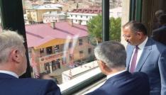 Bakan Ağbal ve Özhaseki Bayburtta kentsel dönüşümü masaya yatırdı