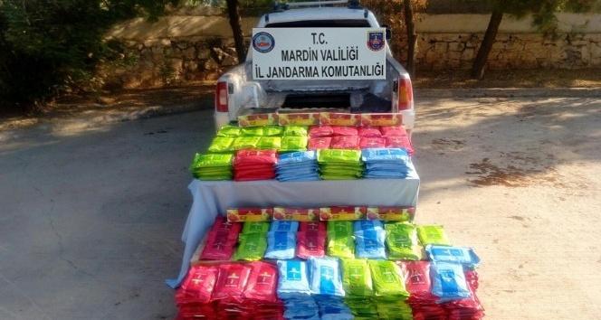 Mardinde 665 kilogram kaçak tütün ele geçirildi