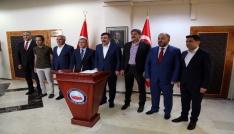 AK Partili Yılmaz Tuncelide