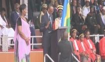 3üncü kez devlet başkanı seçilen Paul Kagame resmen göreve başladı
