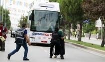 Cumhurbaşkanıyla konuşmak istedi, yanlış otobüsün önüne atladı
