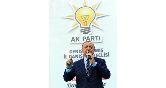 """Cumhurbaşkanı Erdoğan: """"Sen kimsin ki Türkiyenin Cumhurbaşkanına konuşuyorsun"""""""