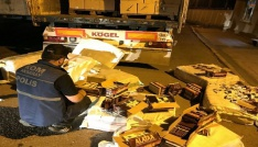 Aksarayda kaçak sigara operasyonu: 1 tutuklama