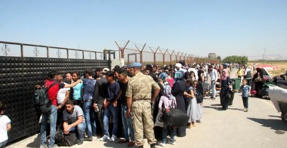 12 bini aşkın Suriyeli Kurban Bayramı nedeniyle ülkelerine gitti