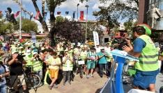 İstanbullular bisikletle boğazı turladı