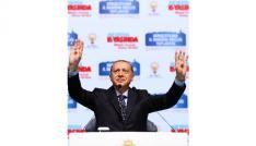 Cumhurbaşkanı Erdoğan Haliç Kongre Merkezinde partililere hitap ediyor