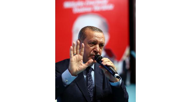 """Cumhurbaşkanı Erdoğan:  """"Bekamız söz konusu olduğunda gözümüz hiç kimseyi görmez, görmeyecektir"""""""