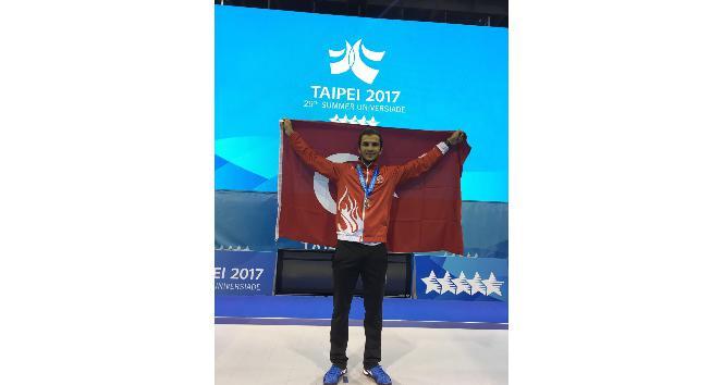 Milli eskrimciden, Universiade 2017de gümüş madalya