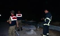 Erbaada kaza 2 ölü 4 yaralı