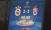 Fenerbahçe 2-2 Trabzonspor foto özet