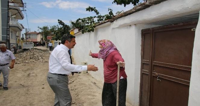 Yaşlı kadından başkana: