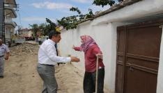 Yaşlı kadından başkana: Ben ölmeden önce burayı bitirin