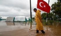 Bursanın Karacabey ilçesi sular altında