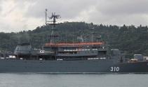 'Perekop' isimli Rus savaş gemisi İstanbul Boğazı'ndan geçti