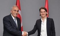 Bakan Fakıbaba Sırbistan Başbakanı Brnabic ile görüştü