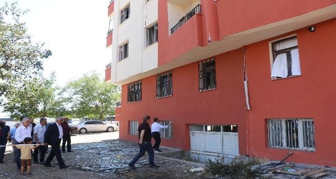 Bingöl'deki yangında zarar gören binayı belediye onaracak