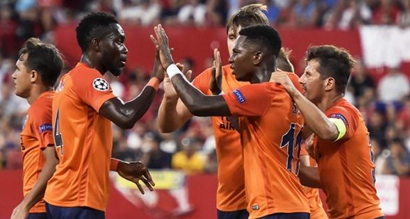 Sevilla Başakşehir maçından kareler