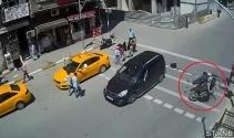 İstanbulda meydana gelen trafik kazaları mobese kameralarında