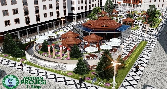 Çayeli Belediyesinden ilçenin görüntüsünü değiştirecek proje