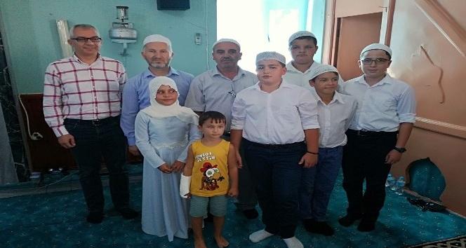 Çakıllı Yeni Camisinde hatim töreni yapıldı