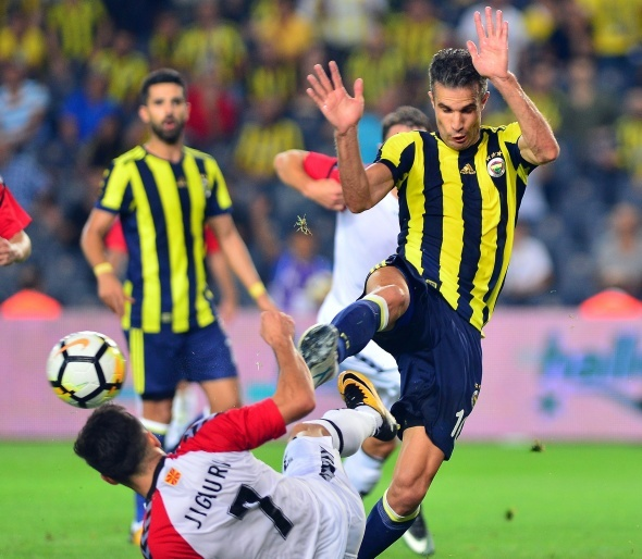 Fenerbahçe Vardar maçı özel kareler
