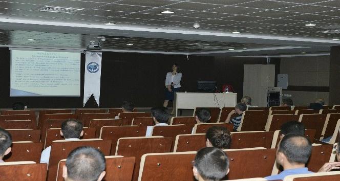 KMÜ personeline hizmet içi eğitim