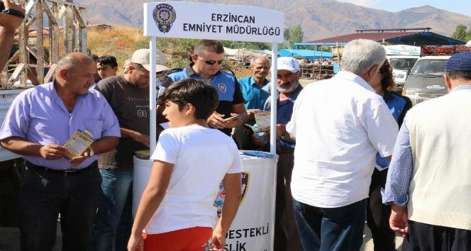 Erzincan Emniyeti dolandırıcılara karşı vatandaşları bilgilendiriyor