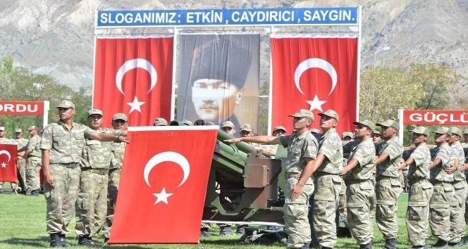Erzincan da 2 bin 469 asker yemin etti