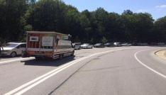Dereköy Sınır Kapısında 5 kilometrelik araç kuyruğu