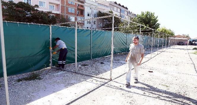 Kırklareli'de kurban satış yerleri hazırlanıyor