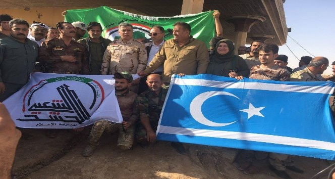 Türkmen lider Telafer'de