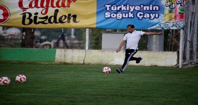 Akın Çorap Giresunspor'da Eskişehirspor hazırlıkları başladı
