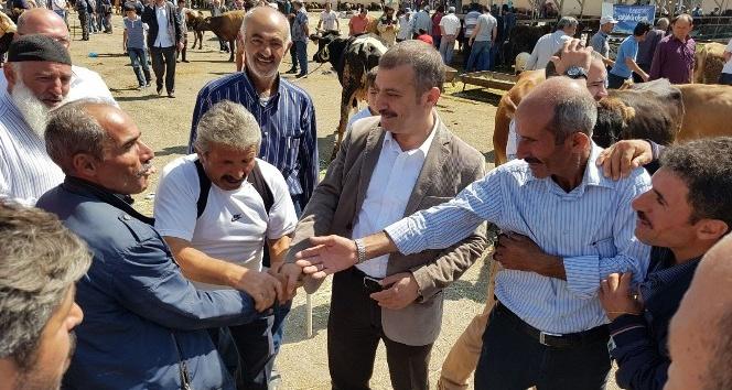 Milletvekili Kavcıoğlu arabulucu oldu