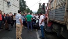 Rizede feci kaza: Karı-koca hayatını kaybetti