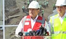Başkan Topbaş, Beşiktaş'ta bulunan tarihi kalıntılarla ilgili konuştu