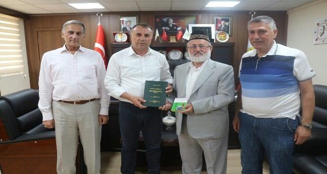 Geylani'den Kurtalan Belediye Başkanı Karaatay'a ziyaret