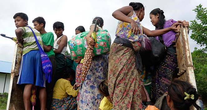 Myanmar hükümeti yardım kuruluşlarını Arakana sokmuyor