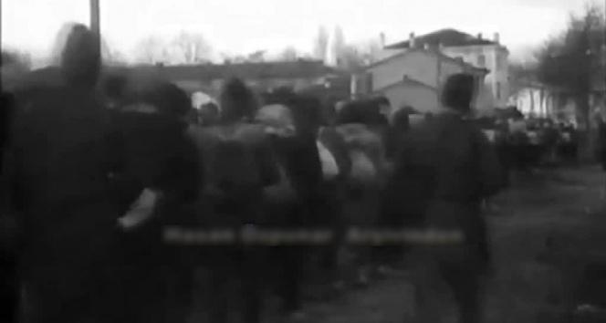 Vatanı işgale gelen Yunan askerlerin esir alındığı görüntüler ortaya çıktı