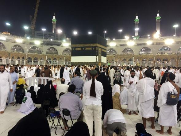 Mekke'de Arafat heyecanı başladı