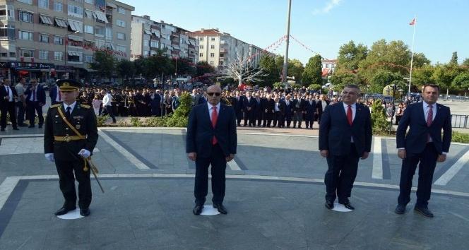 Kırklareli'nde 30 Ağustos Zafer Bayramı töreni