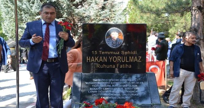 Kırıkkale'de şehitler unutulmadı