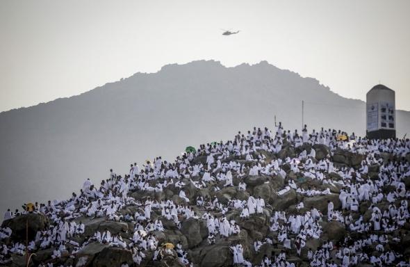 Hacı adayları Arafat'a intikalleri tamamlandı