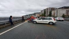 Çayelinde trafik kazası: 2 yaralı
