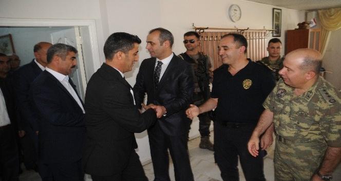 Kaymakam Ahmet Adanur, Cizre halkı ile bayramlaştı