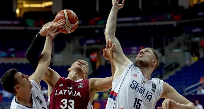 2017 EuroBasket - Sırbistan: 92 - Letonya: 82