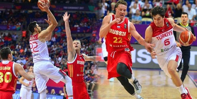 Türkiye 73-76 Rusya foto özet