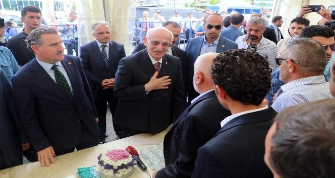 TBMM Başkanı Kahraman ve Bakan Bak, Rize'de bayramlaşma törenine katıldı