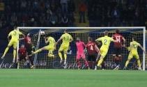 Ukrayna Türkiye maçı foto özet
