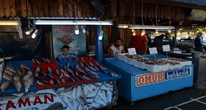 Balık sezonu açıldı tezgahlar şenlendi
