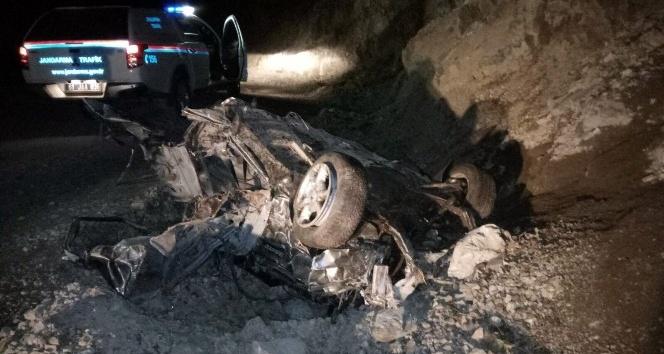 Uzungöl'de trafik kazası: 2 yaralı